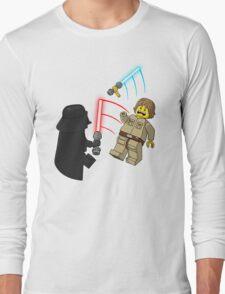 Space Brick Battles Long Sleeve T-Shirt