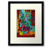 Love Endures Framed Print