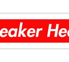 Sneaker Head Sticker