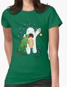 Monster Holidays Womens Fitted T-Shirt