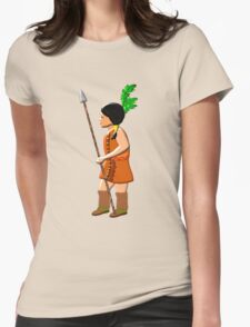 A Native Red Indian Girl of America T-shirt, etc. design T-Shirt