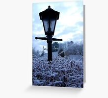 Frost Greeting Card