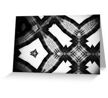 Sky Scraped : Black and White Greeting Card
