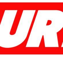 Burr Sticker