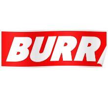 Burr Poster