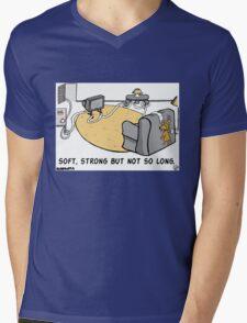 Not So Long. Mens V-Neck T-Shirt