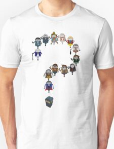 Who's Who are You? Unisex T-Shirt