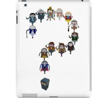 Who's Who are You? iPad Case/Skin