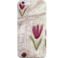 The tulip garden iPhone Case/Skin