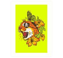 Predatory Puma Art Print