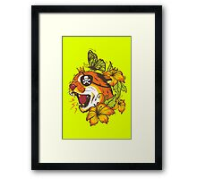 Predatory Puma Framed Print