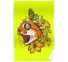 Predatory Puma Poster