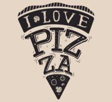 I Love Pizza! by adiruhendi