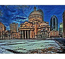 The First Church of Christ  Photographic Print