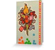 Ars Artis Greeting Card
