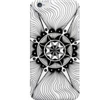 Lines rippling out iPhone Case/Skin