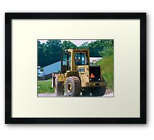Country Cadillac Framed Print