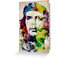 Che Guevara Urban Art Greeting Card