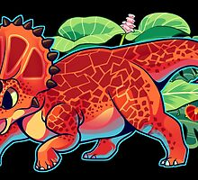 Triceratops by Colordrilos