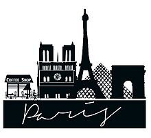 Paris City Photographic Print