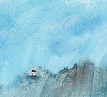 Big skies by Tine  Wiggens
