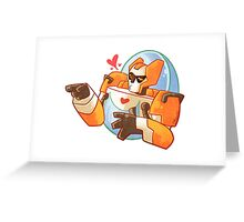 Smooch Blades Greeting Card