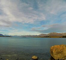 Lake Tekapo - New Zealand South Island by Paul Gilbert