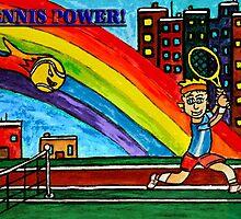 Rainbow Power by Monica Engeler
