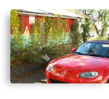 Sports car-wall mural  Canvas Print