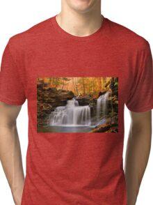 R. B. Ricketts Falls Under Fall's Golden Halo Tri-blend T-Shirt