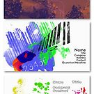A selection of my Business Card designs by Simon Bowker