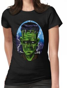 A Mad Man's Monster. Womens Fitted T-Shirt