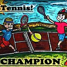 Go Tennis by Monica Engeler