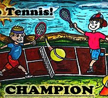 Go Tennis by Monica Engeler