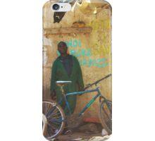 Bike workshop in Nairobi, KENYA iPhone Case/Skin