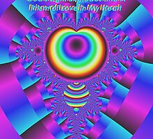 God's Light Explodes Into A Prism of Love in My Heart by Charldia