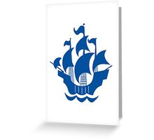Blue Peter Greeting Card
