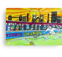 Tennis Champs Canvas Print