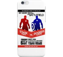 Iron Man vs Captain America iPhone Case/Skin