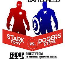 Iron Man vs Captain America by rickrick