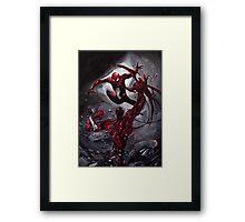 Spiderman Vs Carnage Framed Print