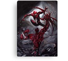 Spiderman Vs Carnage Canvas Print