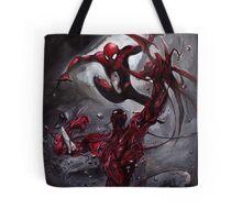 Spiderman Vs Carnage Tote Bag