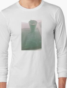 """""""Hey Bud! Can You Hold My Coffee? I'll be Right Back!"""" by Richard F. Yates Long Sleeve T-Shirt"""
