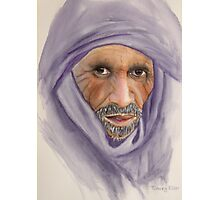 """Tuareg Elder"" Photographic Print"