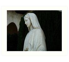 Mary Statue Art Print