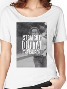 Straight Outta The Church - Fear The Walking Dead Women's Relaxed Fit T-Shirt
