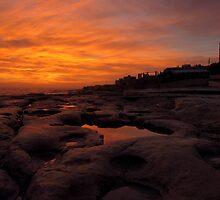 Sunrise at Il - Fortizza Sliema Malta. by Patrick Anastasi
