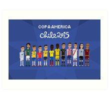 Copa América Art Print
