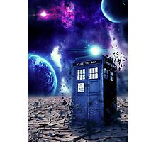 Doctor Who - Tardis  Photographic Print